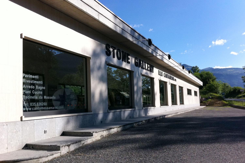 Stone Gallery - esposizione